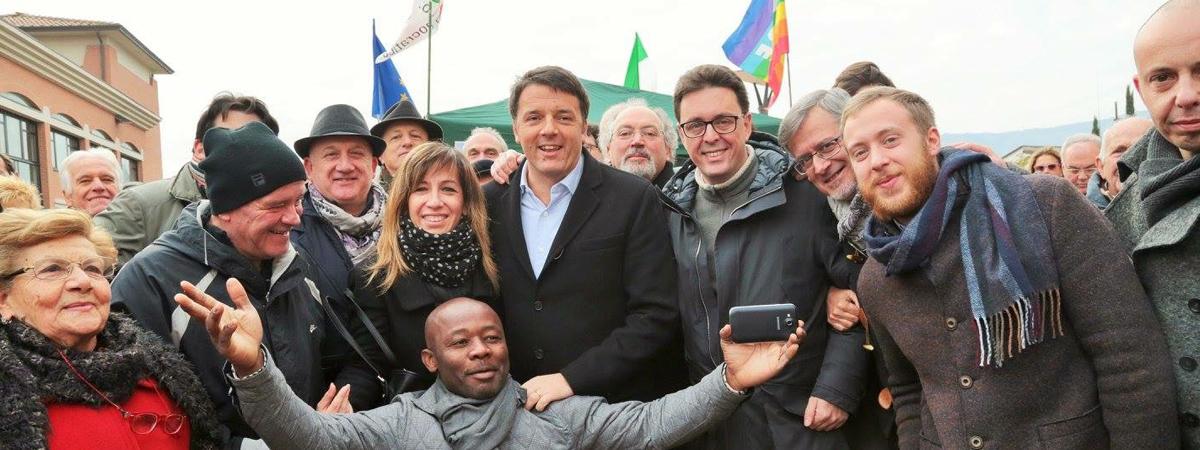 Pontassieve: Matteo Renzi ai banchini Pd