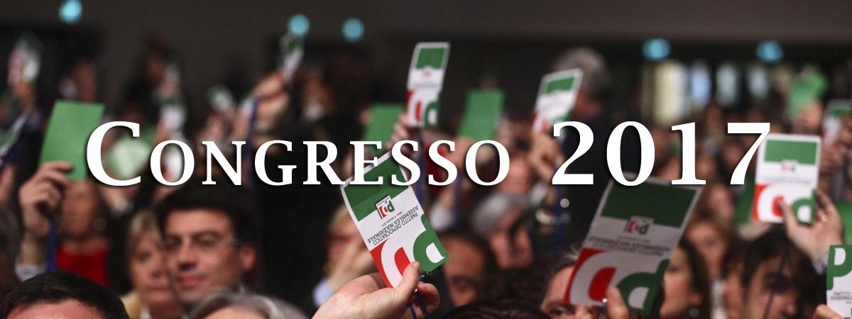 Congresso 2017: votazioni nei Circoli