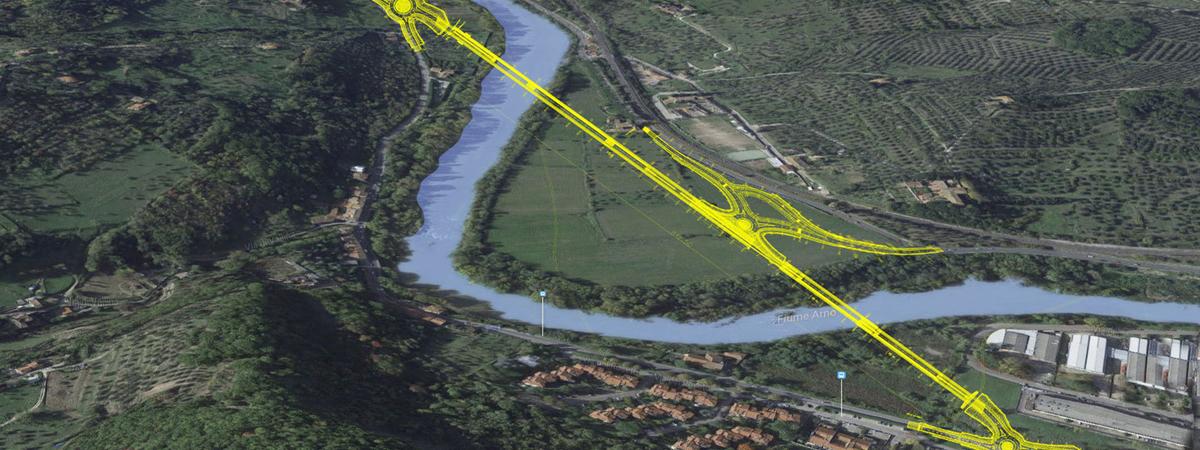 Opere infrastrutturali di viabilità nell'area a est di Firenze