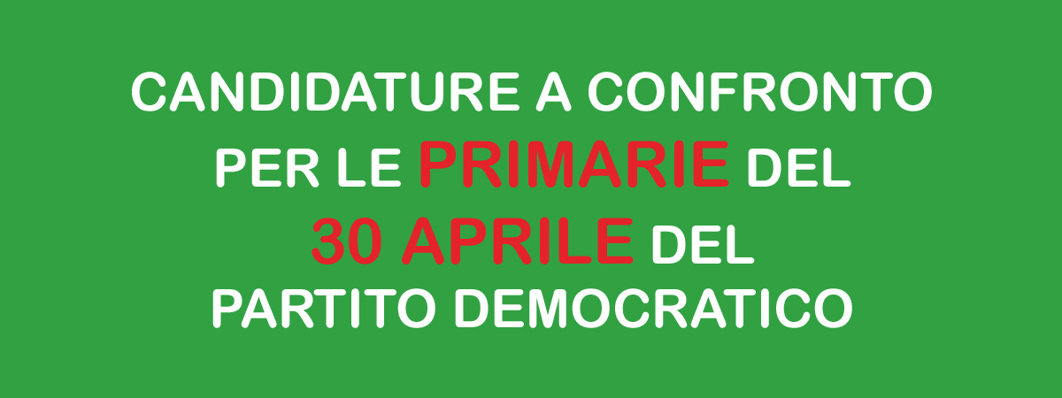 Candidature a confronto