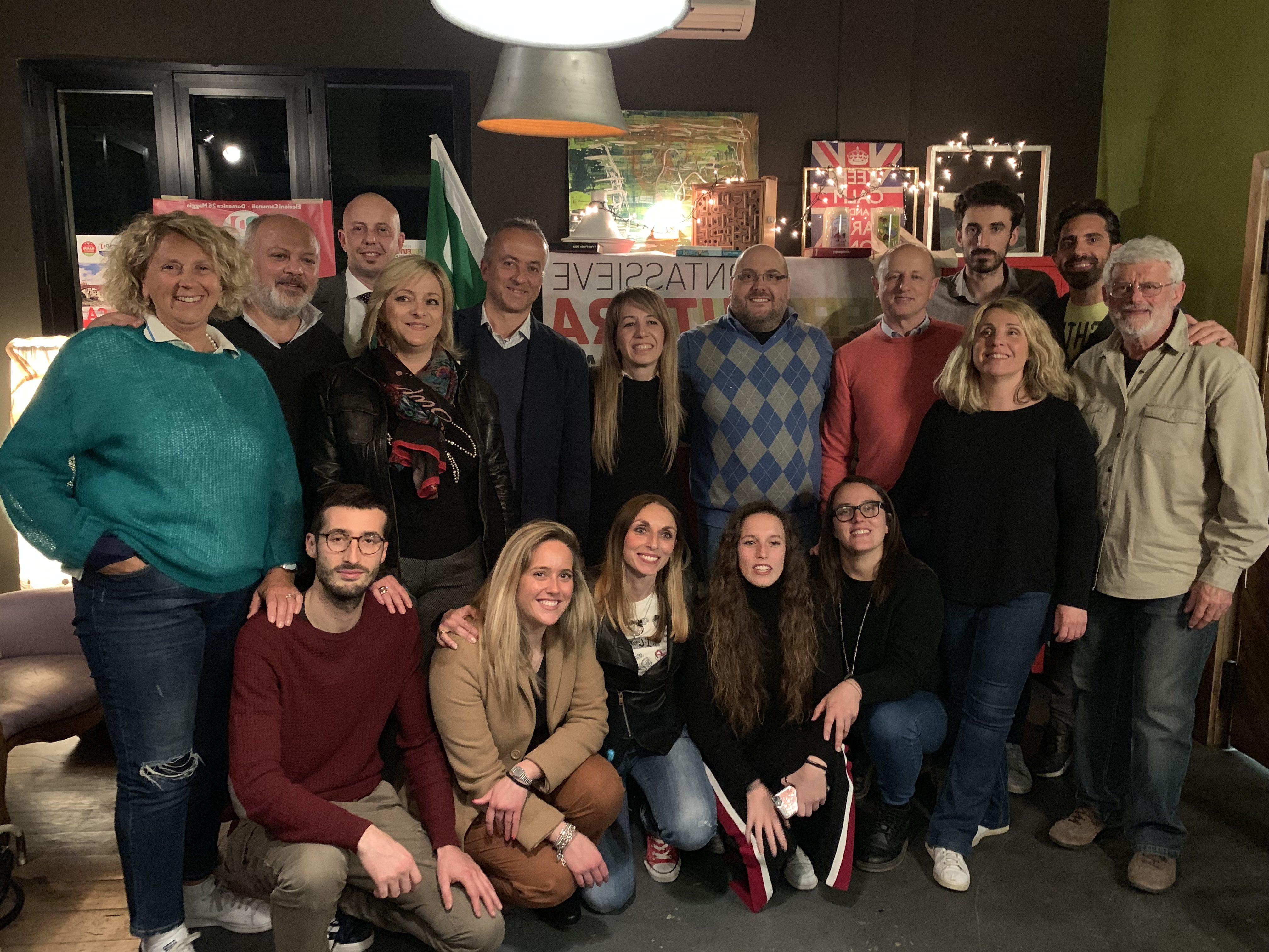 I candidati del Partito Democratico al Consiglio Comunale di Pontassieve