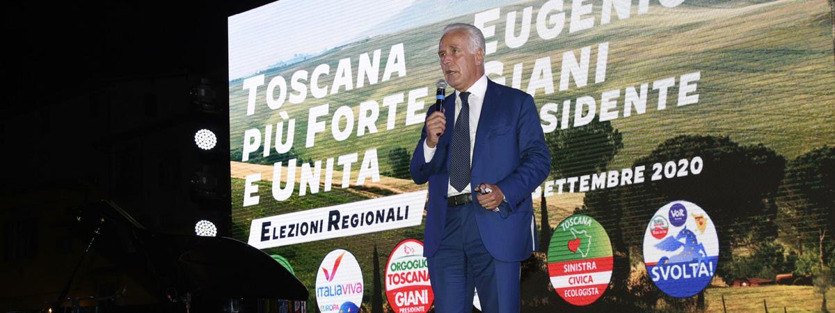 Eugenio Giani è il nuovo Governatore